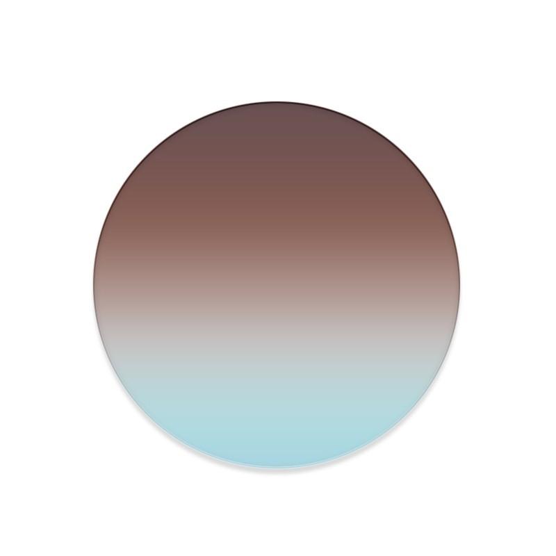 Marrone Azzurro Coppia di Filtri